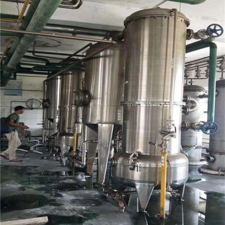 公司求购二手多效浓缩蒸发器 常年回收二手蒸发器