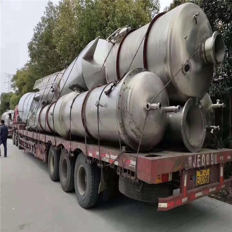 厂家供应二手九成新三效蒸发器 二手浓缩蒸发器 二手双效蒸发器 二手强制循环蒸发器出售