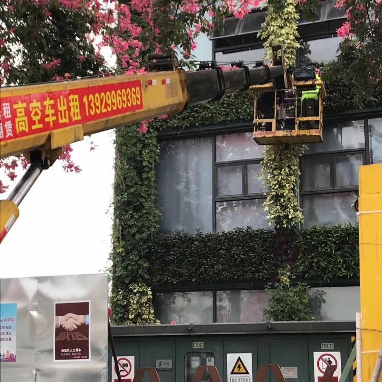 广州升降机出租 升降平台出租 24小时随时服务