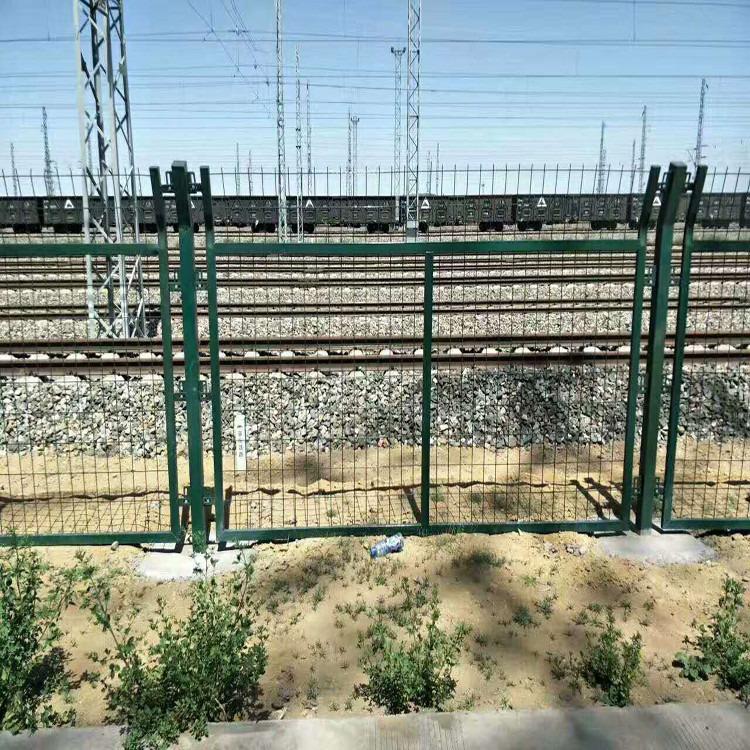 铁路护栏网 铁路线路防护栅栏 铁路桥下防护栅栏