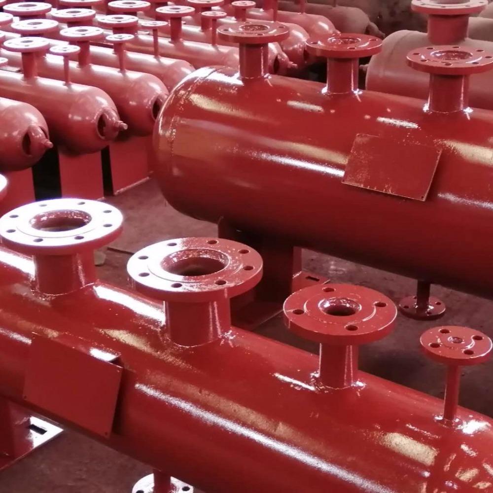 专供pc生产线养护窑专用分汽缸 来图定制 质量保证