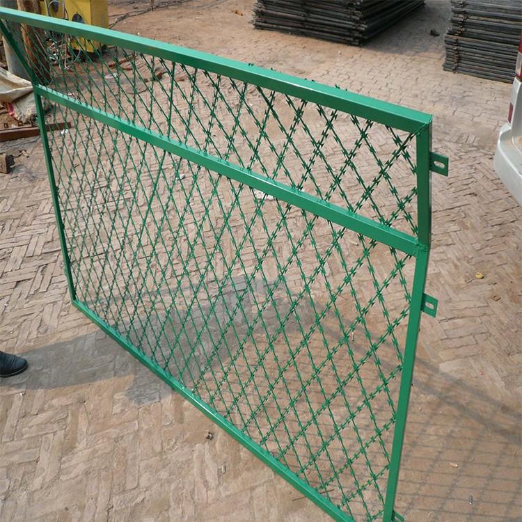 嘉格铁丝网厂 监狱防护围栏网 戒毒所防护网围栏 加密网孔网片
