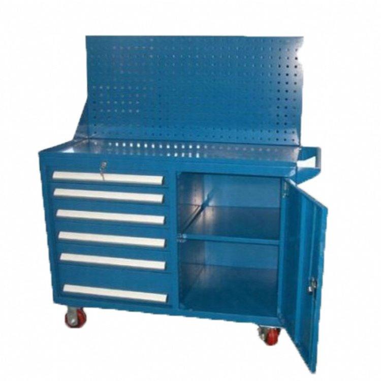 带门工具储存柜 专用车间工具车 工具零件柜