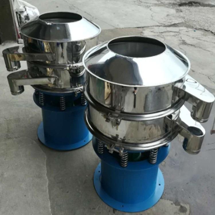 供应广西塑料筛料机 钦州600#一层不锈钢振动筛 各种粉末震筛机厂