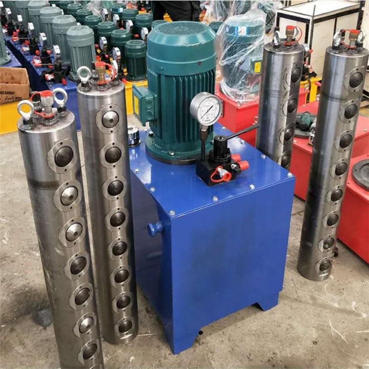 黑龙江佳木斯-石材开采液压开山机-液压电动的劈裂机岩石劈裂机