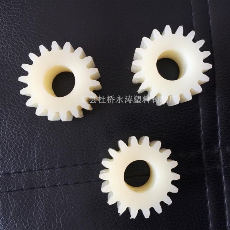 抗压尼龙齿轮 黑色自润滑尼龙齿轮 尼龙配件加工