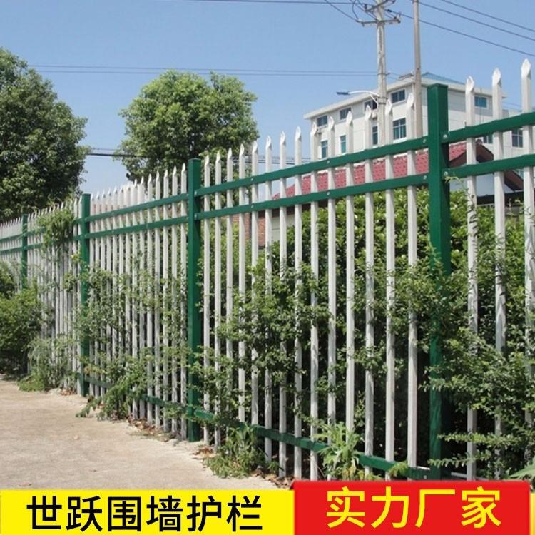 开封铁艺围墙 护栏 开封铁艺栏杆护栏围墙 世跃铁艺护栏围墙