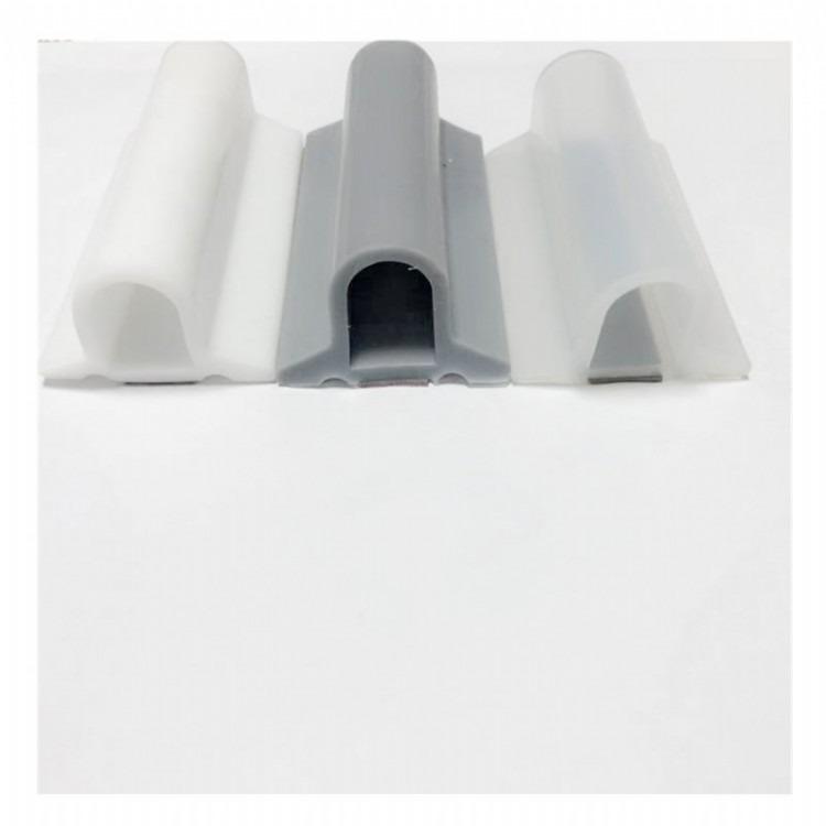 凸字密封条 移门滑轮下轨道防尘条 卫生间厨房衣柜门压条
