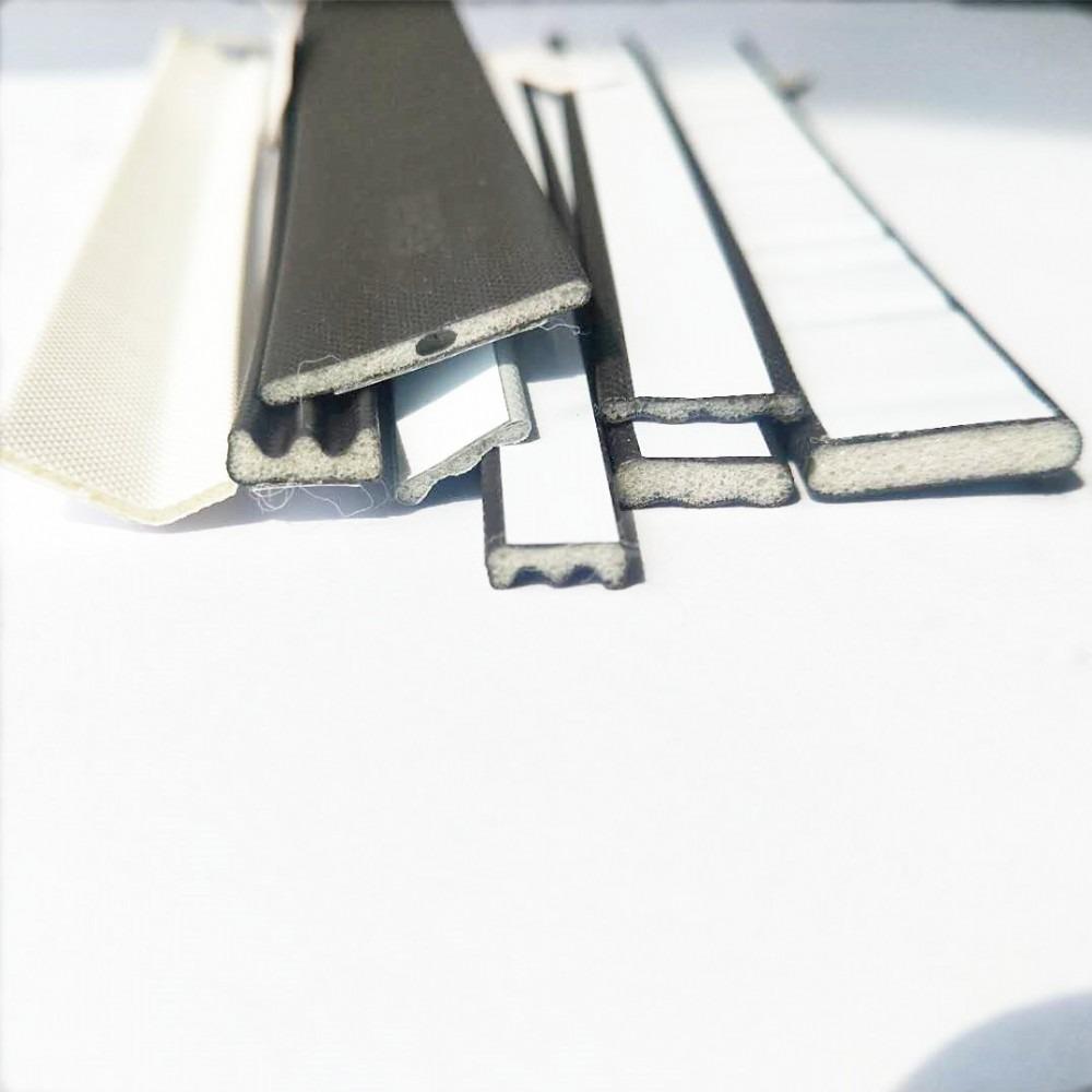 厂家直销包覆式胶条puV型密封条非标门pp骨架包覆式胶条支持定做