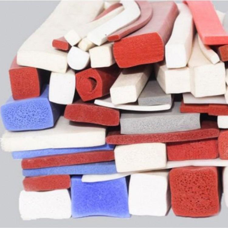厂家直销 硅胶密封条 发泡硅胶D型条 橡胶密封条 橡胶发泡密封条