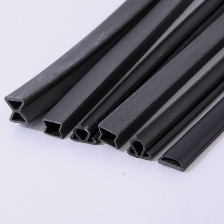 厂家直销 集装箱密封条 电动车门密封条 PVC软硬复合橡胶条 复合