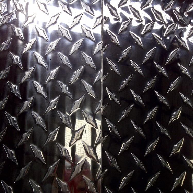 厂家供应防滑铝板 铝合金防滑铝板 五条筋铝板 花纹铝板 量大从优