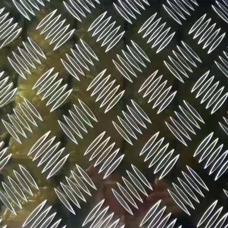 公司主营车用防滑压花铝板 五条筋防锈合金铝板   指针型花纹铝板 支持DIY  物美价廉 量大从优