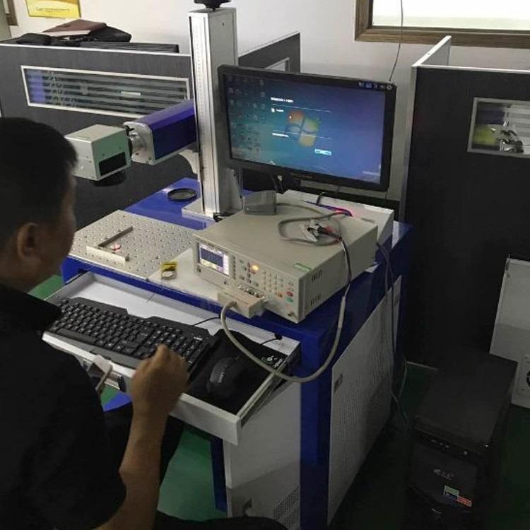 上位机激光打码机ERP数据库网口电阻检测阻值 IC产品激光打标机