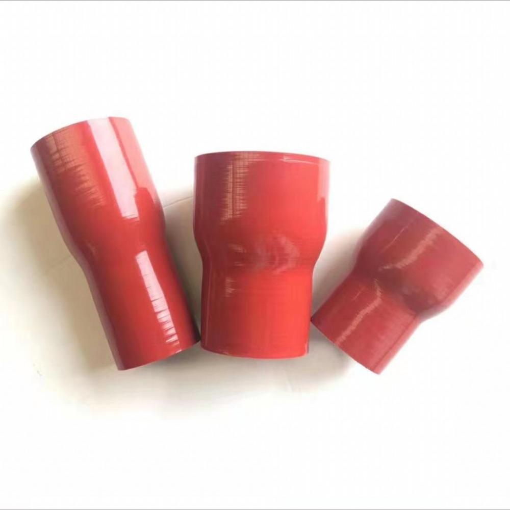 汽车改装硅胶管 耐高温水管彩色工业 缠绕硅胶软管接头大变小厂家
