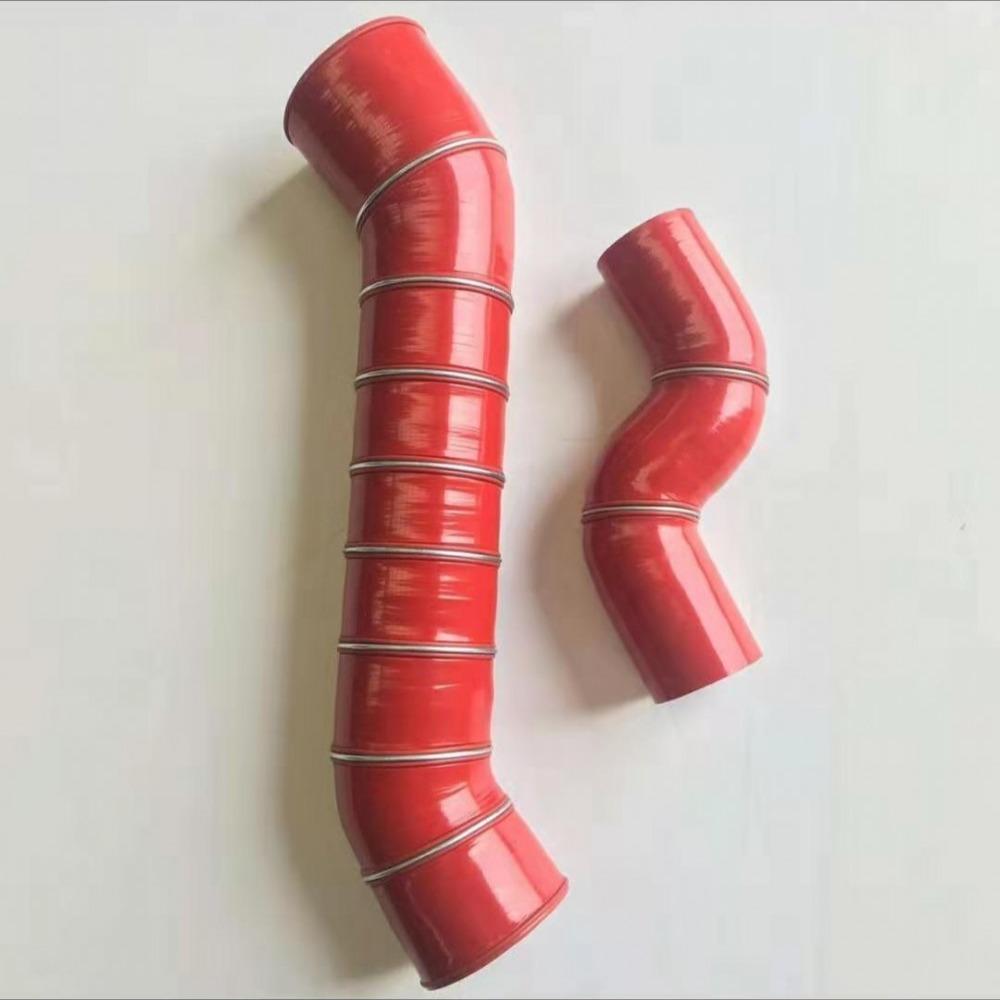 适用于牧马人2.8T柴油涡轮增压中冷器胶管进气管改装硅胶管耐高温