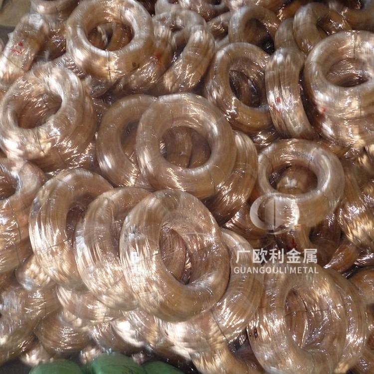 工厂直供C5191磷铜丝    线径1.0mm磷铜线