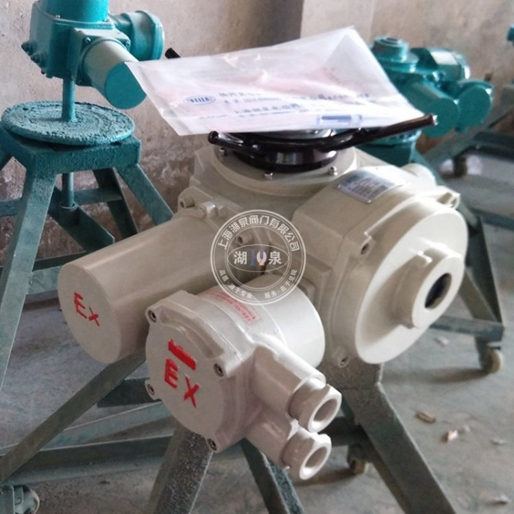 防爆型阀门电动装置DZW45-24 多回转防爆电动执行器