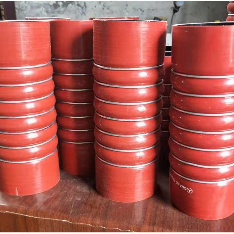 适用于VOLVO沃尔沃重卡中冷器管上下水管进气管涡轮增压管 硅胶管