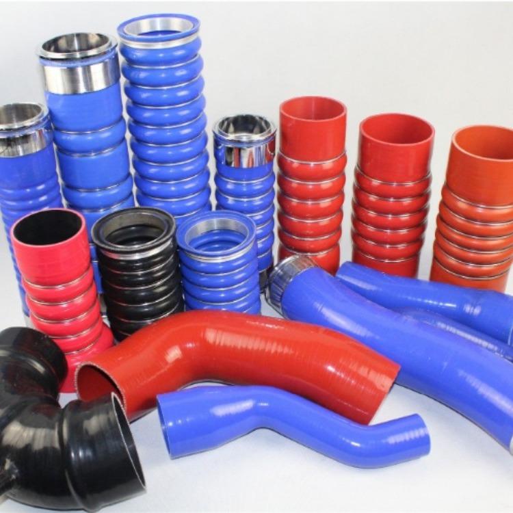 适用于福特新全顺2.0T柴油 涡轮增压器管中冷器胶管 进气管硅胶管