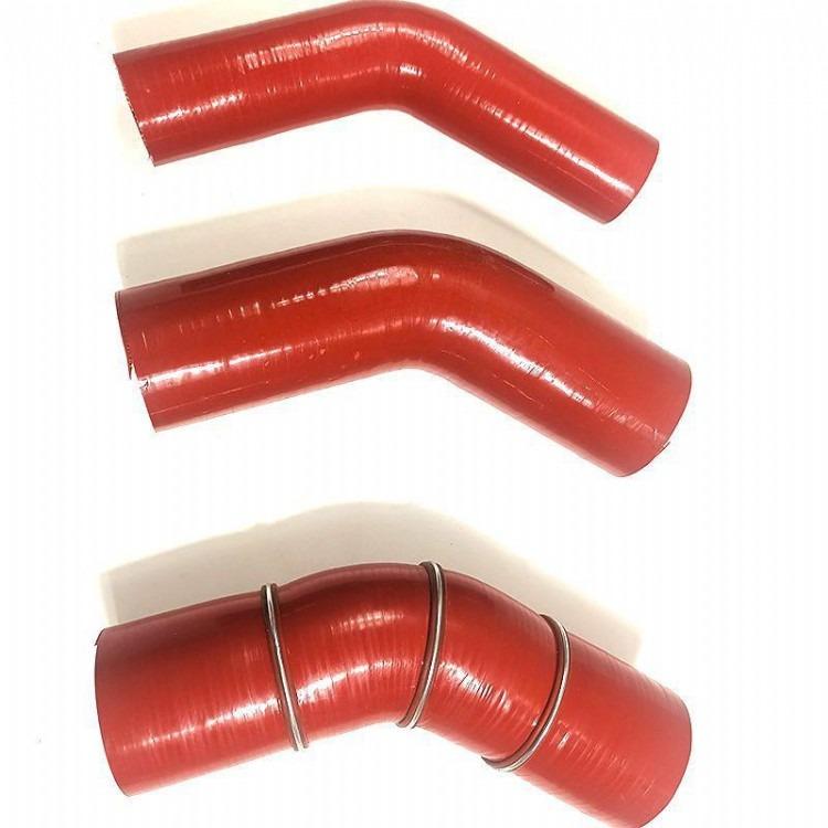 04-08款起亚索兰托2.5T中冷器软管进气连接管涡轮增压管胶管改装