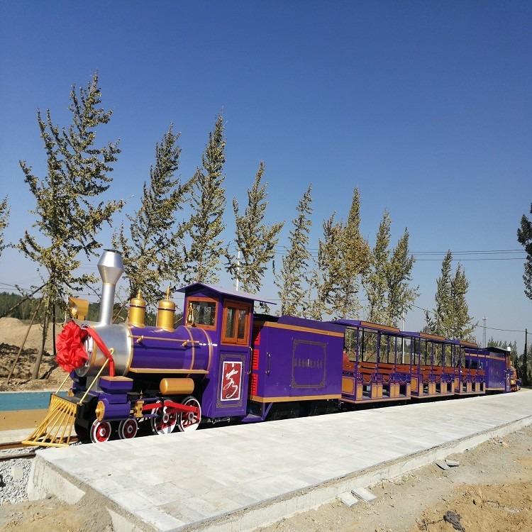 豪華軌道觀光小火車 軌道小火車 為主題公園 特色小鎮 田園綜合體 量身定制