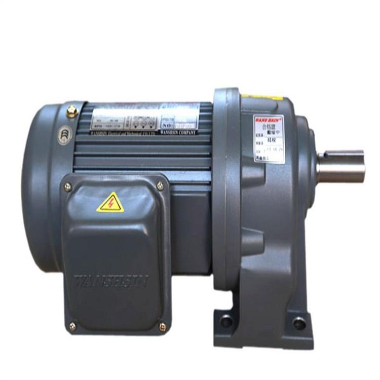 湖南万鑫齿轮减速机  1500W大扭矩减速电机  橡胶机械设备专用