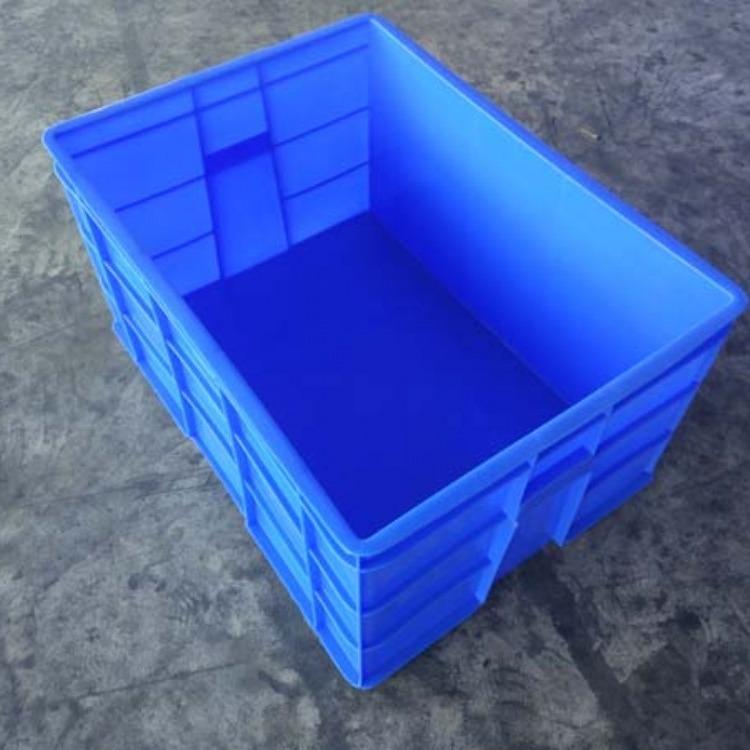 汕尾塑料塑料盒  兴宁塑胶物流箱电话 阳江塑料海鲜方盆销售部