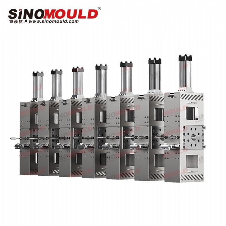 西诺双柱式换网器 不停机换网 液压滑板式换网器熔喷机专用