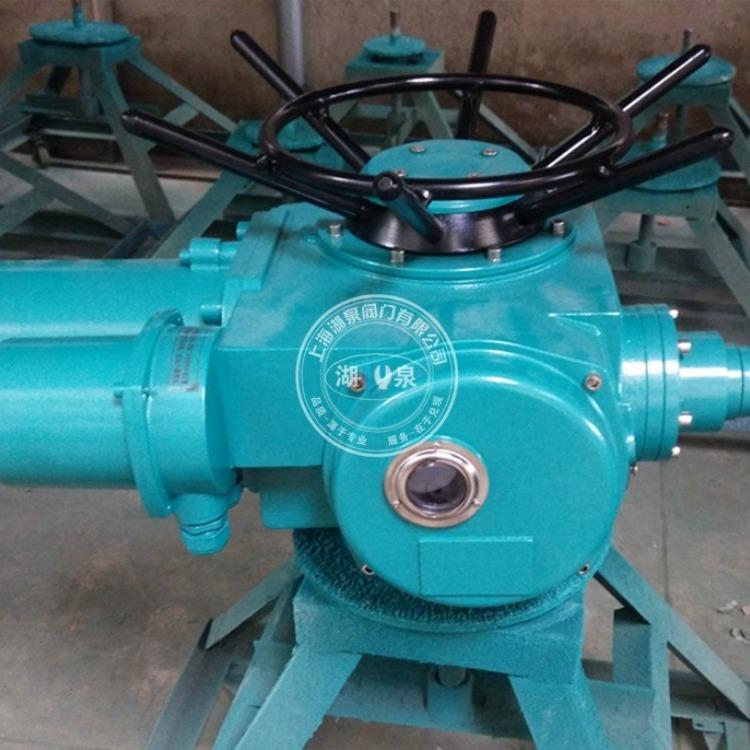 贝尔手电动一体化阀门电动执行器DZW30-18 多回转执行机构 闸阀执行器
