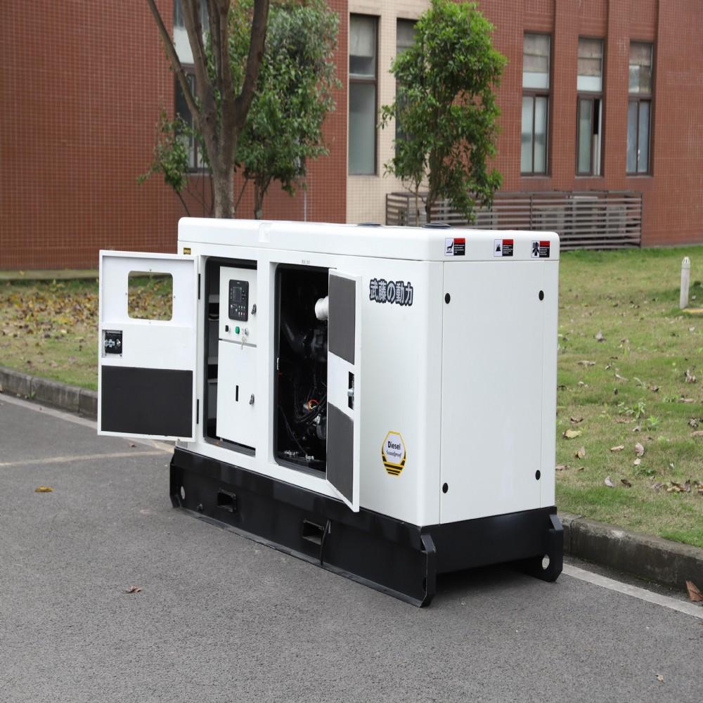 100kw柴油发电机组小区备用电源