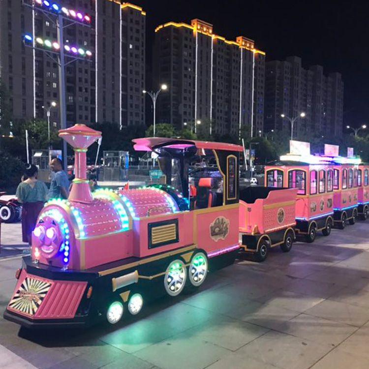長和游樂 兒童電動小火車 商場豪華小火車 生產廠家